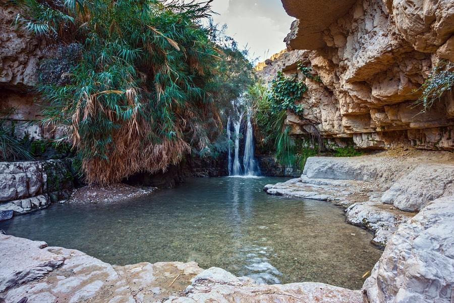 Ein-Gedi waterfall